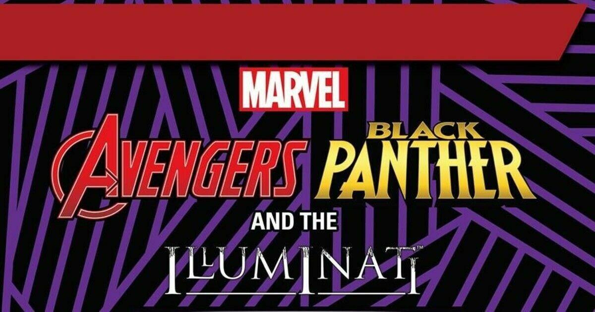 Heroclix negro Panther & Illuminati Completa 51 figura CUR Set 001-051 equipo