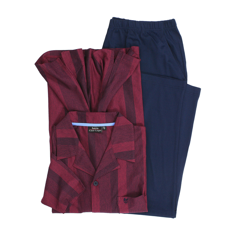 Pyjama lang  Klima- Komfort    Herren in bordeaux von Hajo in Übergrößen bis 7XL   Attraktive Mode    Offizielle     Neuer Markt    Hohe Sicherheit    Neu  9b52b6