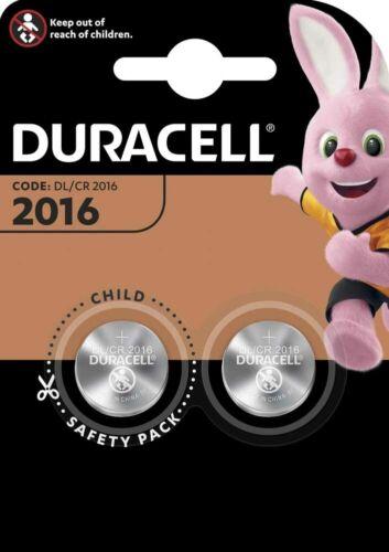 30 x Duracell CR 2016 DL2016 3V Lithium Batterie Knopfzelle 15 x 2er Blister