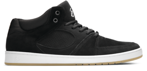 ES MENS ACCEL SLIM MID BLACK//WHITE//GUM 5101000147//979