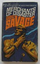 DOC SAVAGE #41 MERCHANTS OF DISASTER KENNETH ROBESON BANTAM 1969 1ST ED PB