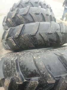 Four-14-9x24-AP-John-Deere-Ford-6-Ply-Mud-Truck-Tractor-Tires-on-Wheels