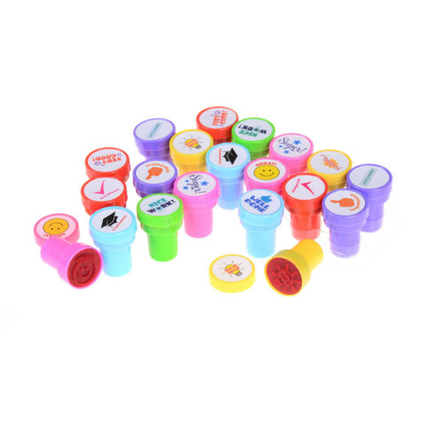 Cute Self Inking Stamp Seal Toy Rubber School Office Party Favors Children Gift|