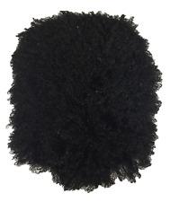 free black hairy