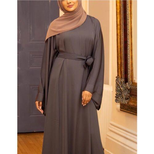 Dubai Abaya Women Muslim Maxi Dress Islam Turkish Prayer Kaftan Jilbab Arab Robe