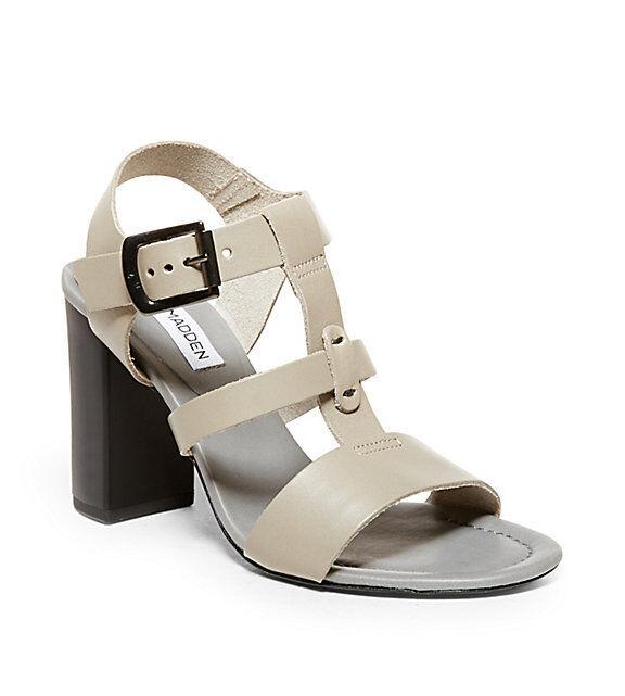 prodotto di qualità Steve Madden Otten grigio grigio grigio Leather Donna  Hi Heel scarpe Dimensione 9  economico in alta qualità