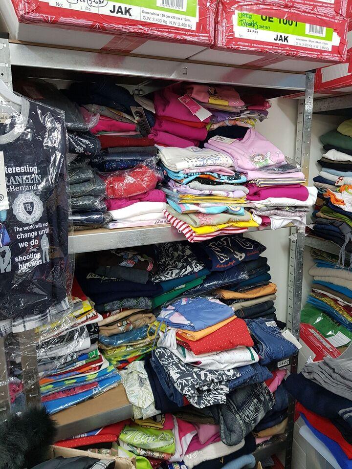 Blandet tøj, Lykkepakker med min. 10 dele nyt, Str 0-1