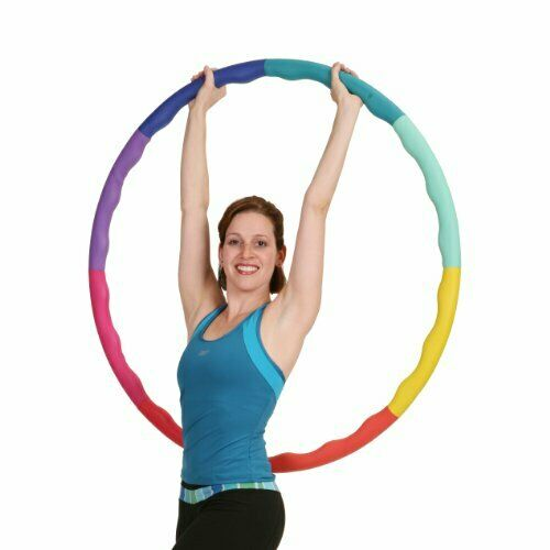 Adults Large Weighted Hula Hoop for Workout w   Soft Rubber Foam Padding (3.3lb)  large selection