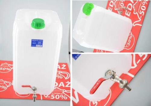 Wasserkanister 5//10//20//30 L Kanister Trinkwasserkanister mit Hahn Camping