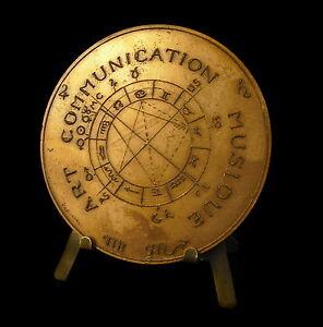 Medaille-Roger-Bouillot-art-communication-musique-astrologie-signes-zodiac-Medal