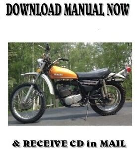 1974 Yamaha Dt250a And Dt360a Factory Repair Service Shop Manual On Cd Ebay