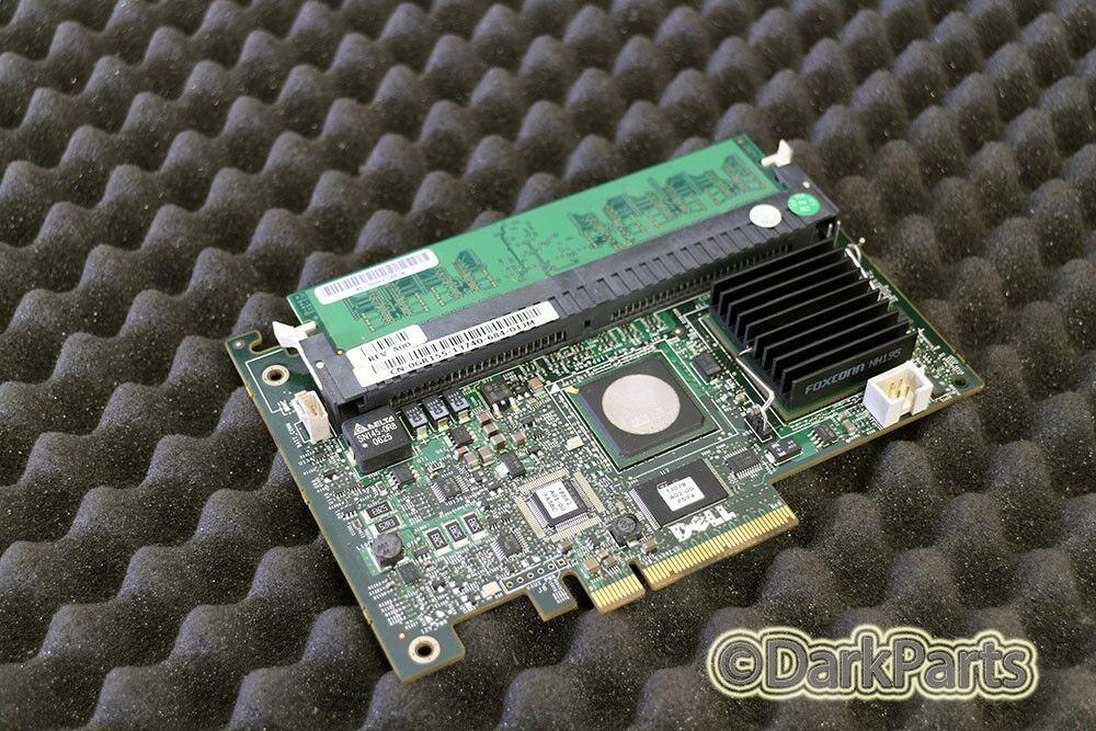 Dell PERC 5/I SAS RAID Controller GR155 0GR155 with 256MB Cache