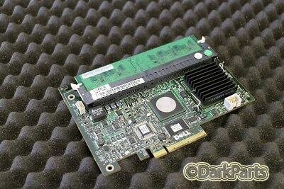 Abile Dell Perc 5/i Controller Raid Sas Gr155 0gr155 Con Cache 256mb-