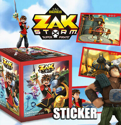 25 bolsas//125 album cromos Panini Zak Storm Super Pirate este álbum