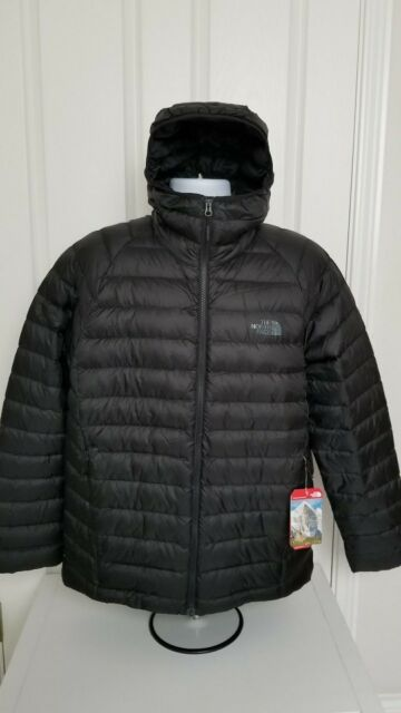 a09644605 NWT THE NORTH FACE MENS TREVAIL HOODIE JACKET DOWN BLACK XL