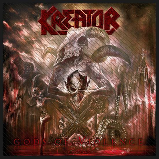 Kreator - Gods of Violence Patch not Specification #109923