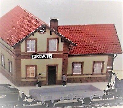 Modeltog, Märklin Bahnhof Maxhausen 600742 Spor 1, skala 1