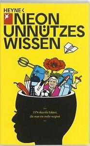 Unnuetzes-Wissen-1374-skurrile-Fakten-die-man-nie-mehr-Buch-Zustand-gut