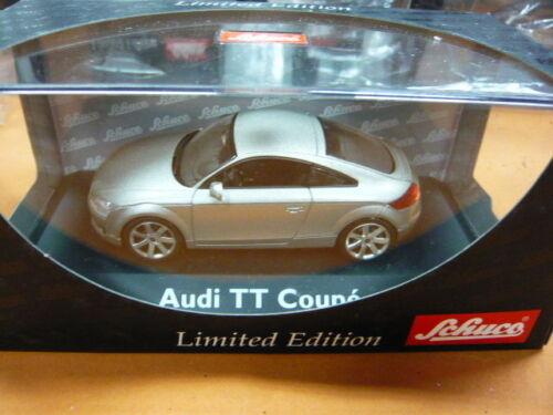 Schuco 1/43 Audi TT Coupe Apollograu 04762