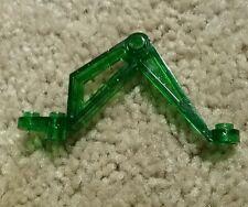 Lego Transparent Dark Green Arm Leg 4 x 8 x 1 From Set 6977 - RARE