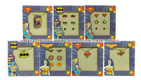 Dc Comics Kids Jewelry Logo Necklace W/charms+earrings Holiday You Choose