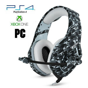 Pro-Gamer-PS4-Headset-for-PlayStation-4-Xbox-One-PC-Computer-Camo-2-Headphones