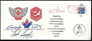 FLOWN-SNOW-BIRD-COVER-SIGNED-BY-SB-5-Captain-Nick-Cassidy-t-1992-K2231