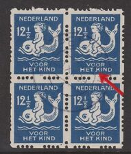 228 PM3 Roltanding 85 sheet used CW 218,- SPECIAL PLAATFOUT Nederland syncopated