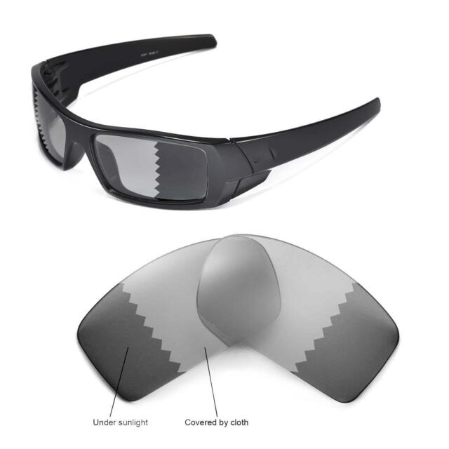 404092df3d5 Walleva Polarized Transition photochromic Replacement Lenses for Oakley  Gascan