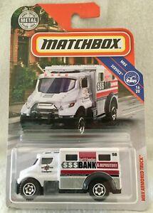 MBX Armored Truck  Panzerwagen  Matchbox MBX SERVICE  16//20  1:64  OVP  NEU