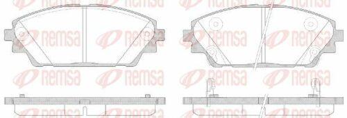 Scheibenbremse 1569.02 für MAZDA REMSA Bremsbelagsatz
