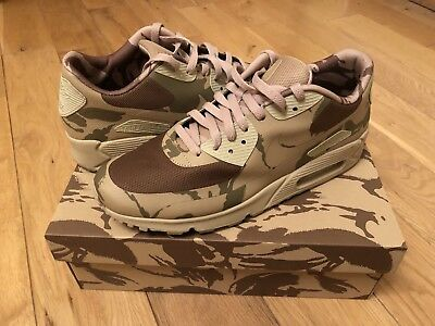 2013 Nike Air Max 90 UK Camo SP UK 10.5 Pays Camouflage Tier