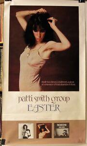 Patti-Smith-Group-Easter-ORIGINAL-1978-36-034-x-21-034-PROMO-Poster-NOS