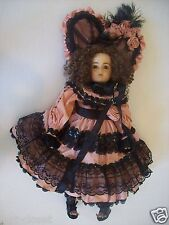"""OOAK Patricia Loveless Vernon Seeley French 27"""" Porcelain Can Can Doll @ cLOSeT"""