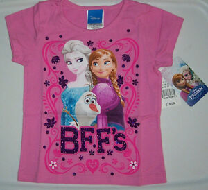 2 T// NWT Toddler Girls Frozen Top// Size