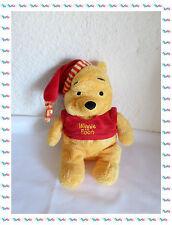 G -Doudou Peluche Winnie T-shirt Rouge Et Bonnet  Winnie The Pooh Disney Nicotoy
