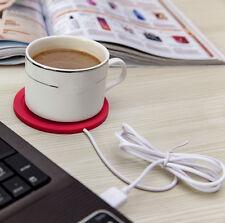 5V USB Silicone Heat Warmer Heater Tea Coffee Mug Hot Drinks Beverage Cup LM