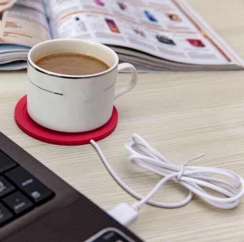 Electric-USB Tea Coffee Drink Warmer Gadget Rapid Mug Beverage Cup Heat 50-60 XS