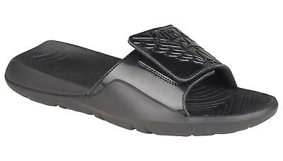 new product 6d754 a4753 NIB NIKE JORDAN Mens 9 HYDRO 7 AA2517 010 BLACK SLIDE SANDALS MSRP $50  884498843154 | eBay