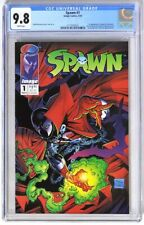 S332. SPAWN #1 by Image CGC 9.8 NM/MT (1992) 1st App. of SPAWN (Al Simmons)