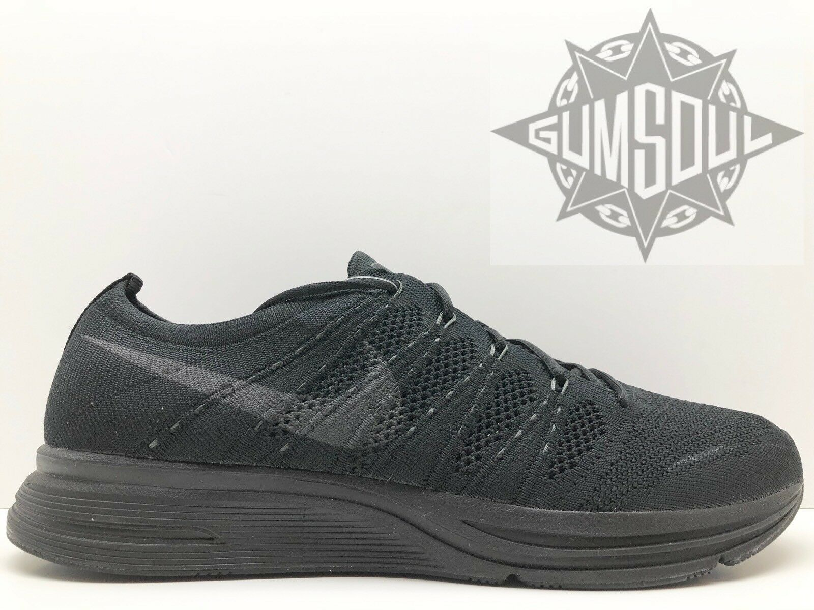 NIKE FLYKNIT TRAINER OG TRIPLE BLACK ANTHRACITE AH8396 004 Price reduction Special limited time