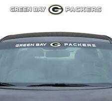 Green Bay Packers Auto Windshield Decal [NEW] NFL Car Wind Shield Sticker Emblem