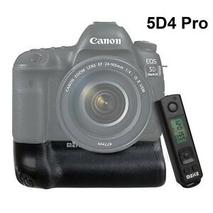 Meike MK-5D4 Pro Battery Grip with 2.4G Wireless Remote for Canon 5D Mark IV Hot