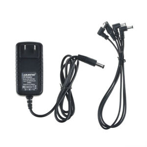 guitar effect pedal 3 way daisy chain power supply cable with 9v 1a dc adapter 740972415258 ebay. Black Bedroom Furniture Sets. Home Design Ideas