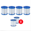 BESTWAY 1,2,3,4,6 Lay-Z SPA Pool Filter Kartuschen Ersatzfilter Filterkartusche