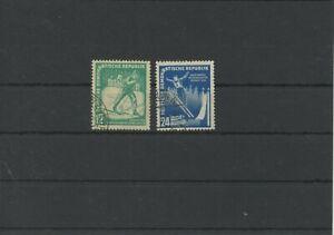 Germany-GDR-vintage-yearset-1952-Mi-298-299-Postmarked-Used-More-Sh-Shop-3