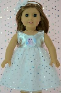 Doll-Clothes-For-18-034-American-Girl-Our-Generation-Journey-SEQUIN-DRESS-HEADBAND