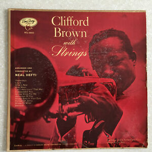 Clifford-Brown-With-Strings-1955-039-EMARCY-Drummer-Label-MONO-LP-Jazz-Vinyl-Record