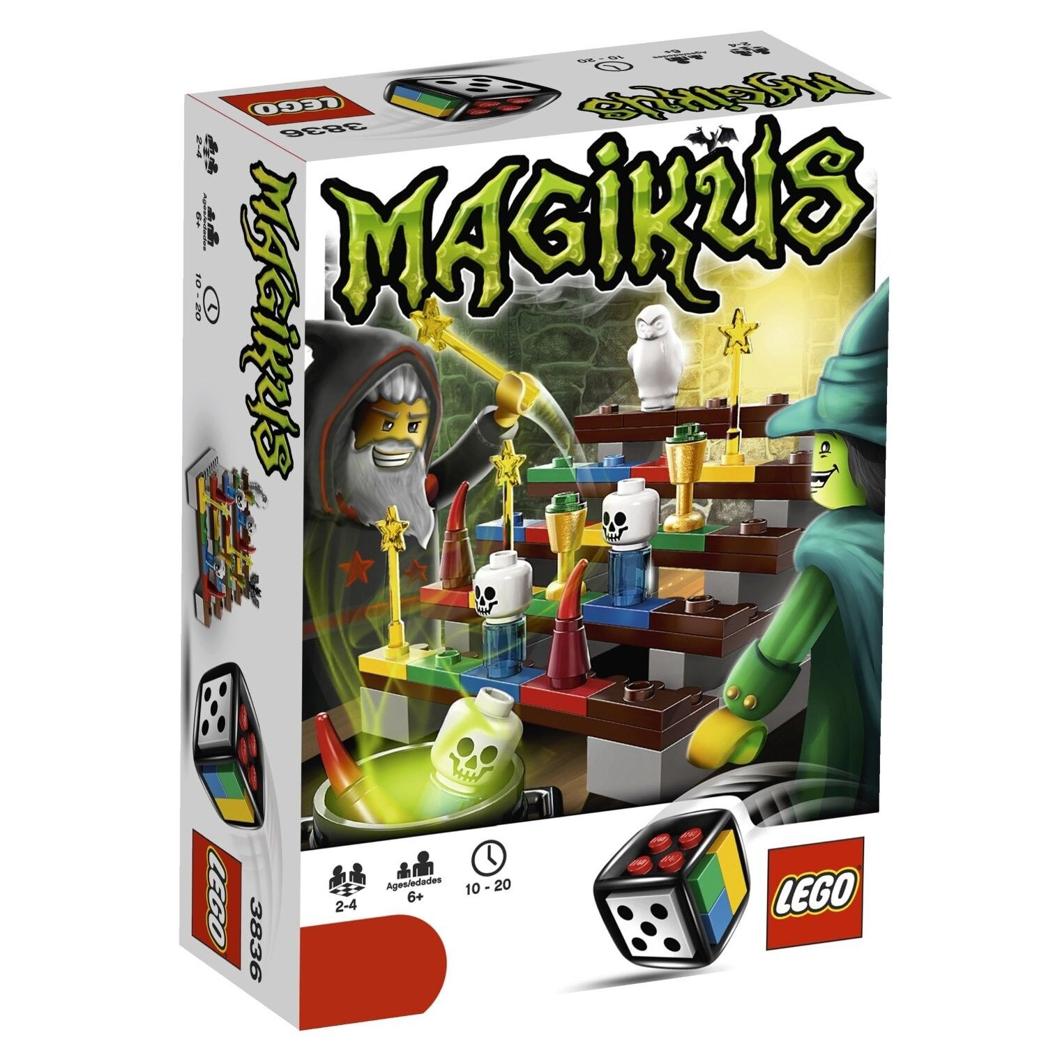 LEGO Magikus 3836 Lego Game 109 Pieces Awesome Awesome Awesome 2 to 4 Players Age 6+ New HTF 0ebdcf