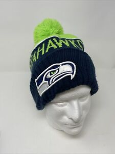 Seattle Seahawks Beanie Knit Hat Cap New Era NFL Apparel Officially Licensed